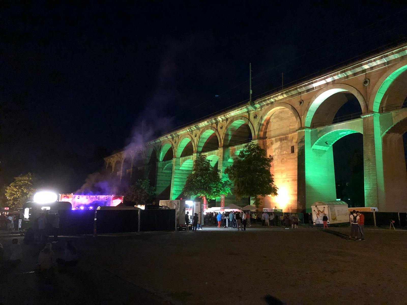 Festplatz am viadukt bietigheim-bissingen parken